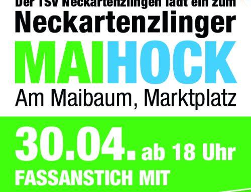 Maibaum-Aufstellung und Maihock